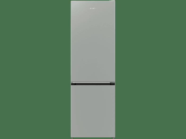 GORENJE RK6192AX4  Kühlgefrierkombination (A++, 232 kWh/Jahr, 1850 mm hoch, Edelstahl/Grau)