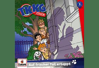 Tkkg Junior - 001/Auf frischer Tat ertappt  - (CD)