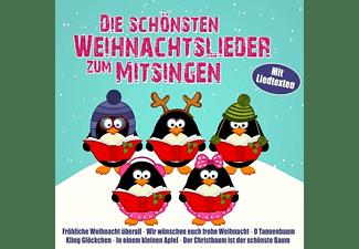 VARIOUS - Die Schönsten Weihnachtslieder Zum Mitsingen  - (CD)