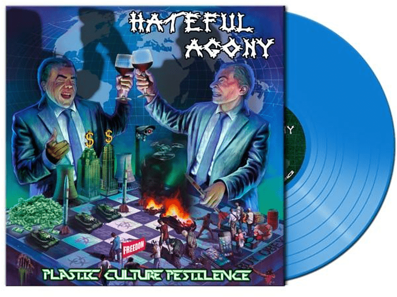 Hateful Agony - Plastic,Culture,Pestilence (Ltd.Blue Vinyl) [Vinyl]