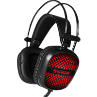 MARVO HG8941 Wired Gaming Headset Schwarz/ 7-farbige Beleuchtung