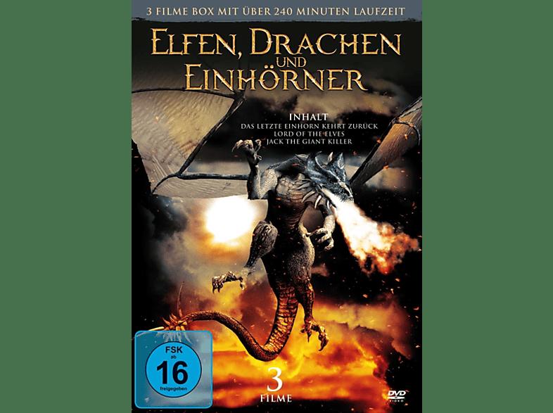 Elfen,Drachen Und Einhörner (3 Filme) [DVD]