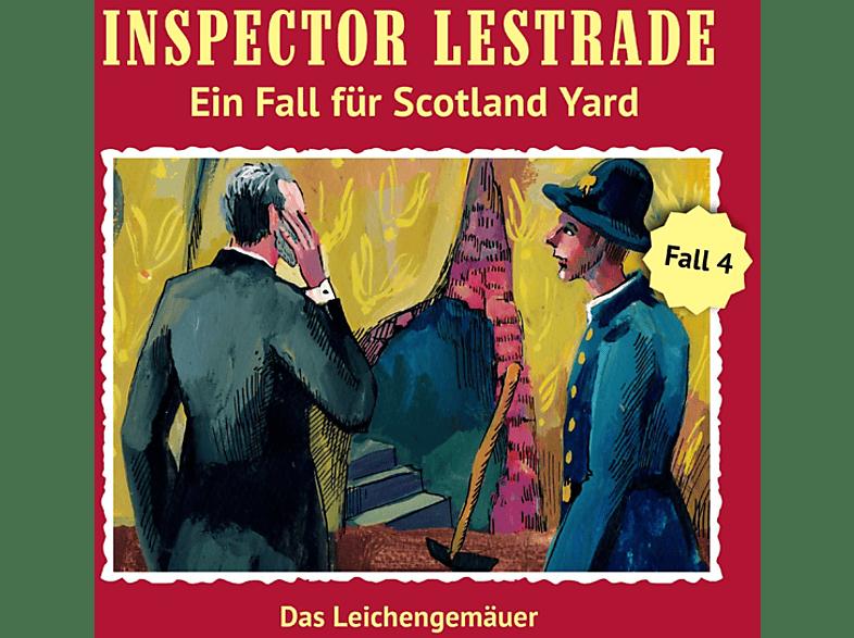 Inspector Lestrade - Inspector Lestrade - Das Leichengemäuer (Folge 4) - (CD)