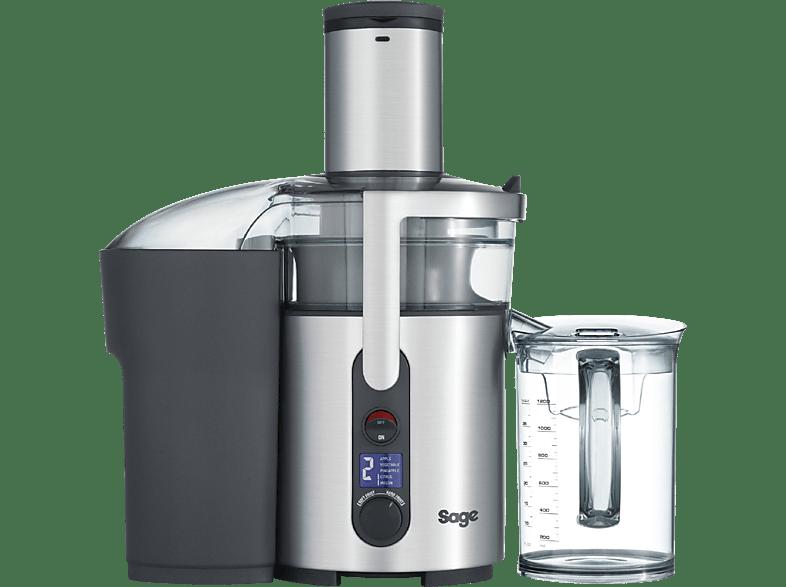 SAGE SJE520BSS4CEU1 The Nutri Juicer Plus Entsafter 1300 Watt Silber/Transparent