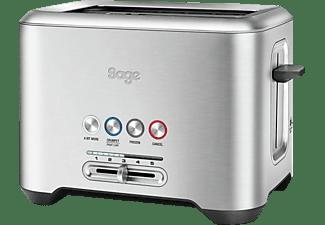 SAGE STA720BSS2EEU1 The Bit More Toaster Silber (1000 Watt, Schlitze: 2)