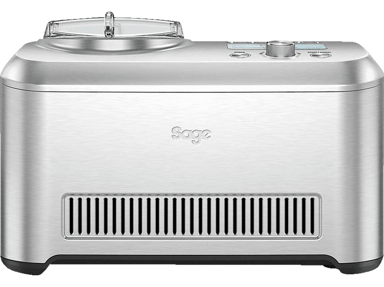 SAGE The Smart Scoop Eismaschine (200 Watt, Silber)