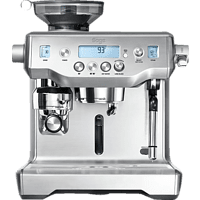 SAGE SES980BSS4EEU1 the Oracle Espressomaschine Silber