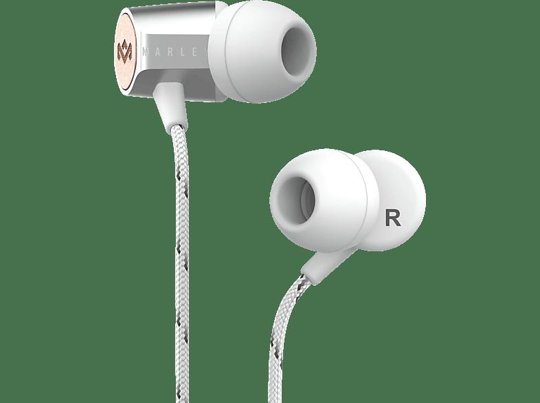 MARLEY Uplift 2, In-ear Kopfhörer  Silber