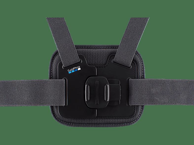 GOPRO 3661-195 Chesty, Brustgurthalterung, Schwarz, passend für alle GoPro Kameras