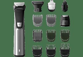 PHILIPS Multigroom MG7745/15 14-in-1 für Gesicht, Haare und Körper Serie 7000, silber-schwarz