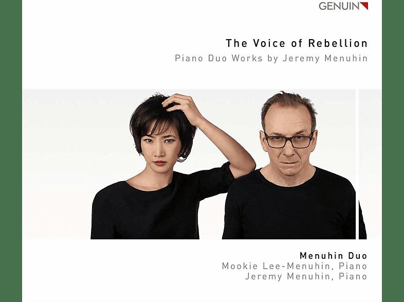 Menuhin Duo - The Voice of Rebellion-Werke für Piano Duo [CD]