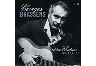 Georges Brassens - Et Sa Guitare-No.4-9  - (CD)