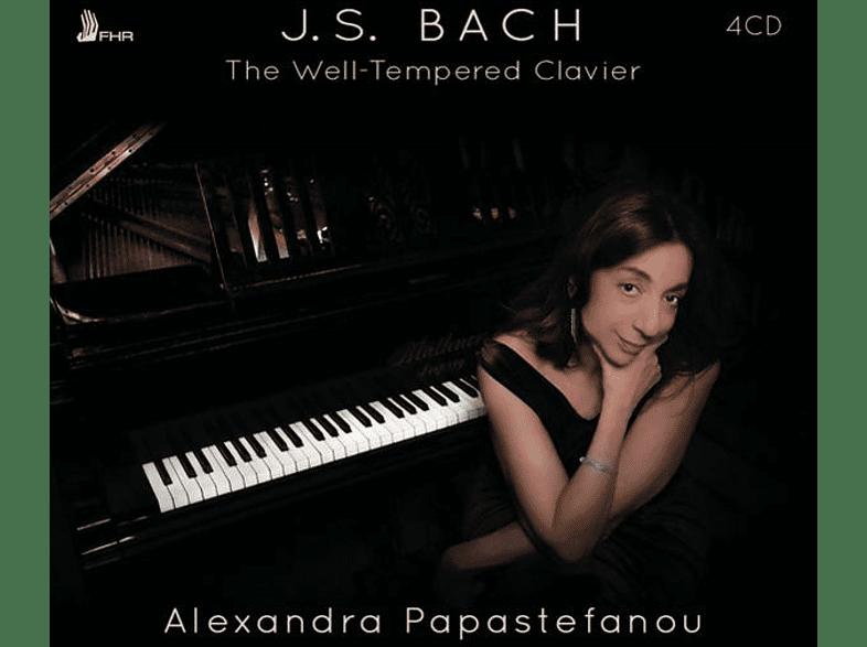 Papastefanou Alexandra - The Well-Tempered Clavier [CD]