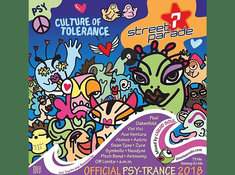 VARIOUS - Street Parade Trance 2018 (Mixed By Liquid Soul)  [CD]