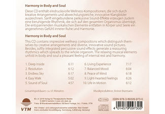 Stein Arnd - Harmony in Body and Soul  - (CD)