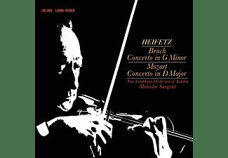 Jascha Heifetz, New Symphony Orchestra Of London - Bruch - Concerto In G Minor / Mozart - Concerto In D Major  - (Vinyl)