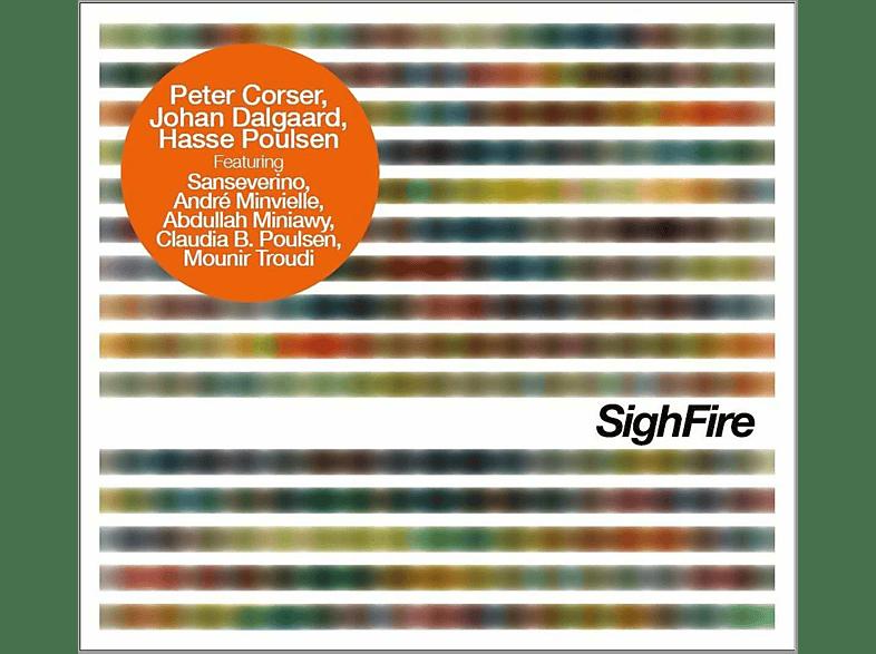 Peter Corser, Johan Dalgaard, Hasse Poulsen - Sighfire [CD]