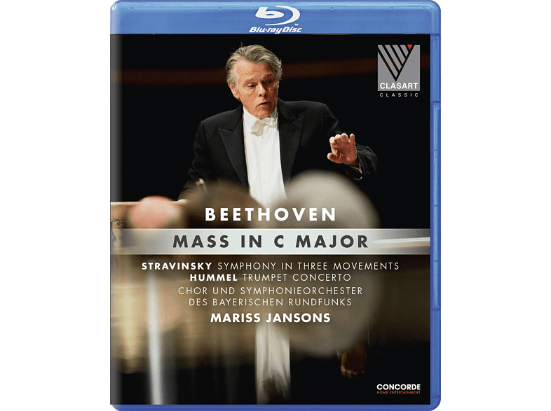 - Beethoven Mass in C-Major [Blu-ray]