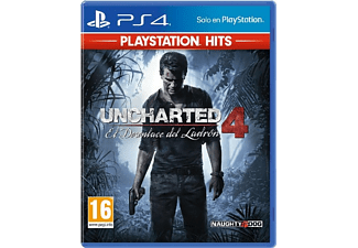 PS4 Uncharted 4: El Desenlace del Ladrón (PlayStation Hits)