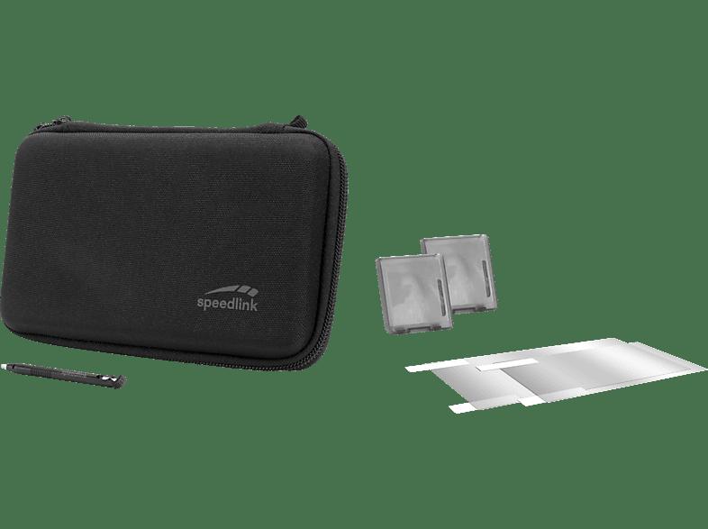 SPEEDLINK 7-in-1 STARTER KIT - für N2DS XL, , Starter Kit für Nintendo 2DS XL, Schwarz
