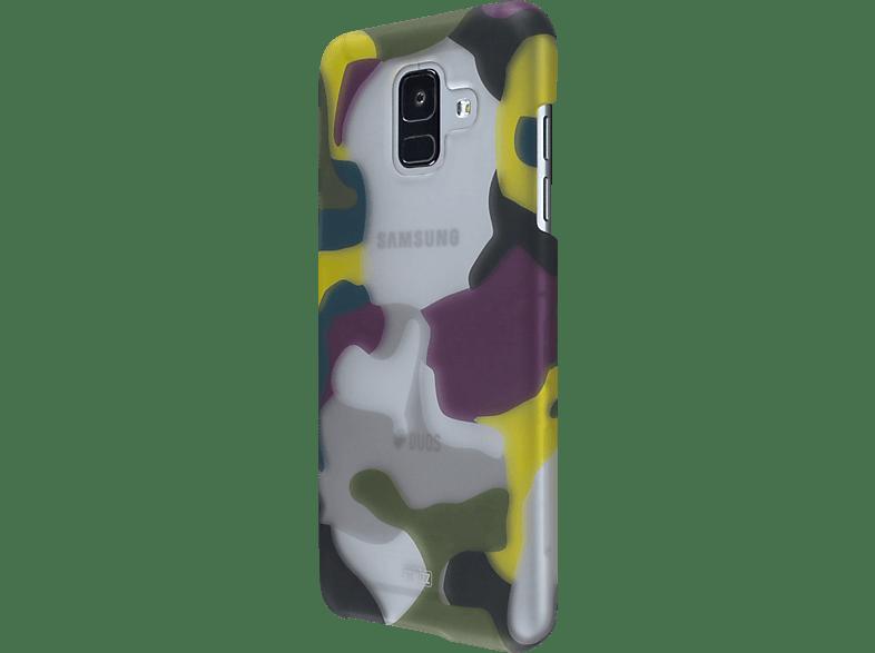 ARTWIZZ CamouflageClip , Backcover, Samsung, A6 (2018), Polycarbonat, Camouflage