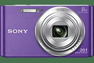 SONY Cyber-shot DSC-W830 Zeiss Digitalkamera Violett, 20.1 Megapixel, 8x opt. Zoom, TFT-LCD, Xtra Fine