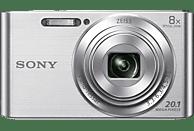 SONY Cyber-shot DSC-W830 Zeiss Digitalkamera Silber, 20.1 Megapixel, 8x opt. Zoom, TFT-LCD, Xtra Fine