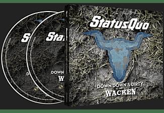 Status Quo - DOWN DOWN & DIRTY AT WACKEN  - (DVD + CD)