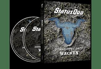 Status Quo - Down Down & Dirty At Wacken  - (Blu-ray + CD)