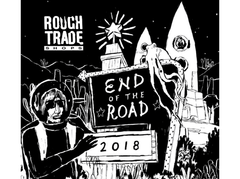 VARIOUS - Rough Trade Shops: End Of The Road 2018 [CD]