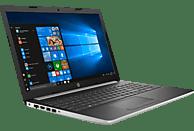HP 15-da0316ng, Notebook mit 15.6 Zoll Display, Core™ i7 Prozessor, 16 GB RAM, 1 TB HDD, 256 GB SSD, GeForce® MX130, Silber