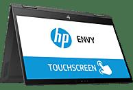 HP 13-ag0301ng, Convertible mit 13.3 Zoll Display, Ryzen™ 5 Prozessor, 8 GB RAM, 256 GB SSD, Radeon™ Vega 8, Schwarz/Silber