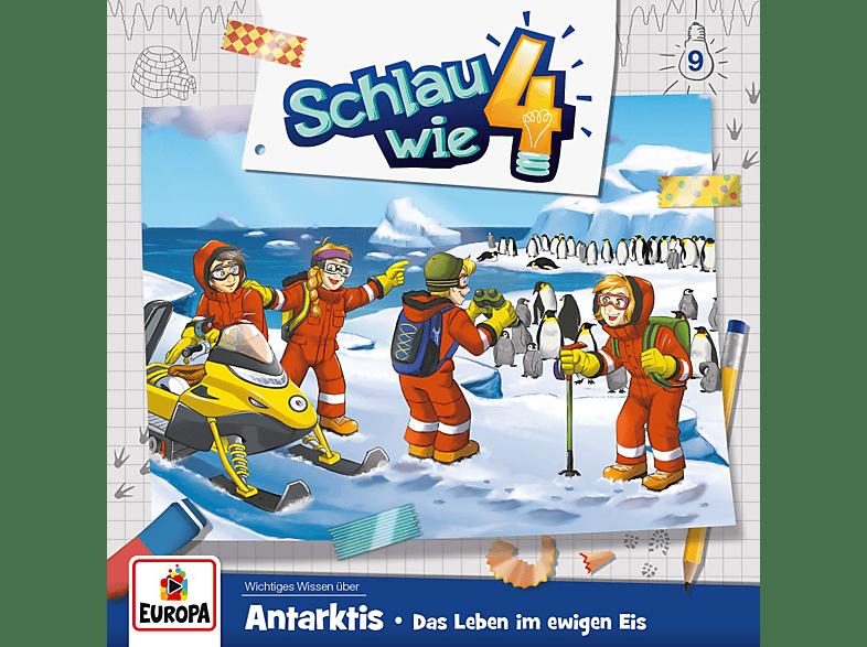 Schlau Wie Vier - Schlau Wie Vier 009/Antarktis. Das Leben im ewigen Eis - (CD)