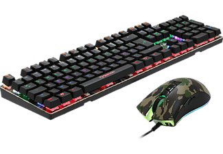 MARVO KM435, Gaming-Set, Mechanisch