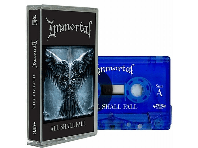 Immortal - All Shall Fall (Clear Blue) [MC (analog)]