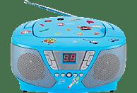 BIGBEN CD60 Kids CD Radio, Blau