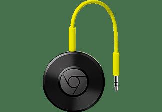 GOOGLE Chromecast Audio Streaming Player App-steuerbar, W-LAN Schnittstelle, Schwarz