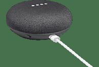 GOOGLE Home Mini Smart Speaker, Karbon