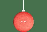 GOOGLE Home Mini Smart Speaker mit Sprachsteuerung, Koralle