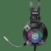 MARVO HG9015G Virtual 7.1 Surround Headset, RGB Kopfhörer Schwarz