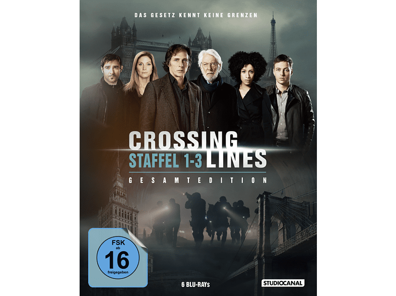 Crossing Lines - 1.-3. Staffel - Gesamtedition [Blu-ray]