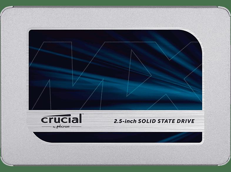CRUCIAL MX500, 500 GB SSD, 2.5 Zoll, intern