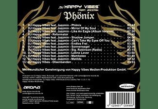 DJ Happy Vibes feat. Jazzmin - Phönix  - (CD)