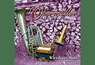 Die Obermüller Musikanten - Wirtshaus Musi - Ausgabe Nr.3  - (CD)