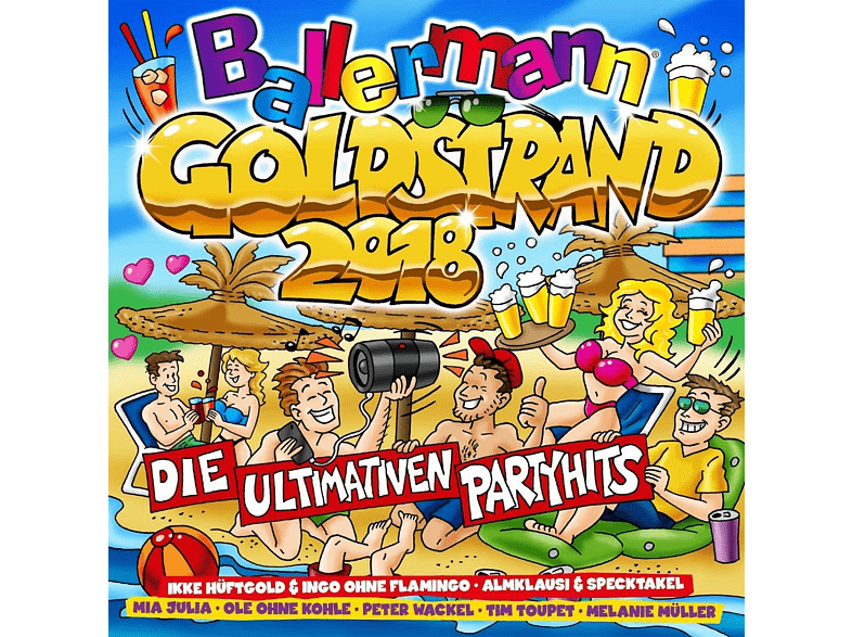 VARIOUS - Ballermann Goldstrand 2018 Die Ultimativen Partyhi [CD]