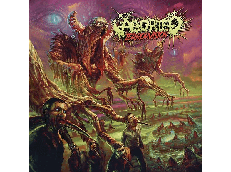 Aborted - TerrorVision [LP + Bonus-CD]