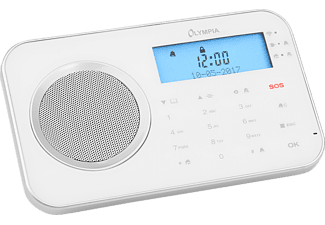 OLYMPIA Prohome 8700 Funk-Alarmsystem, weiss