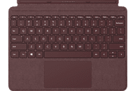 MICROSOFT Surface Go Signature Type Cover Tastatur Bordeaux Rot