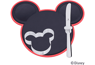 WMF 12.9641.6040 Mickey Mouse 3-tlg. Küchenhelfer-Set Silber/Schwarz