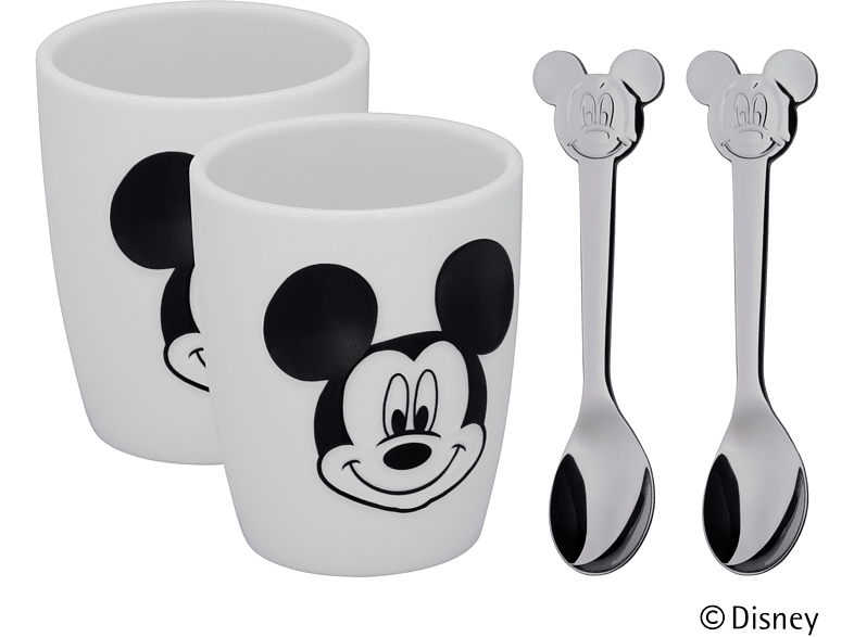 WMF 12.9643.6042 Mickey Mouse 4-tlg. Tassen-Set